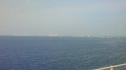 アクアラインから木更津方面
