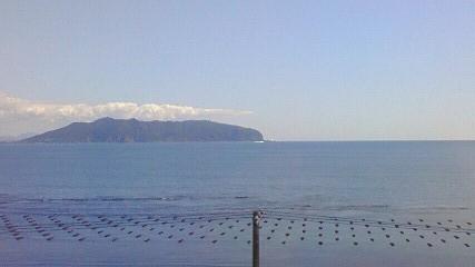 函館山を西方向から眺める