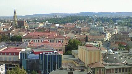 ルーマニアのクルジュ・ナポカ