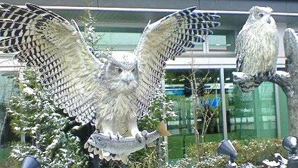 釧路空港ビル玄関前1