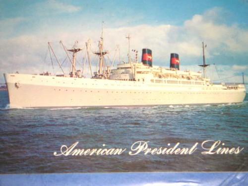 APL:貨客船プレジデント・クリーブランド号