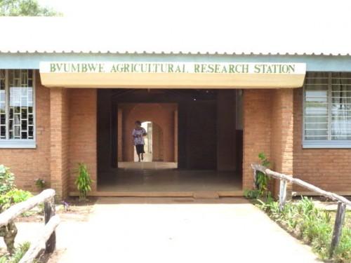 農業技術試験場・正面玄関
