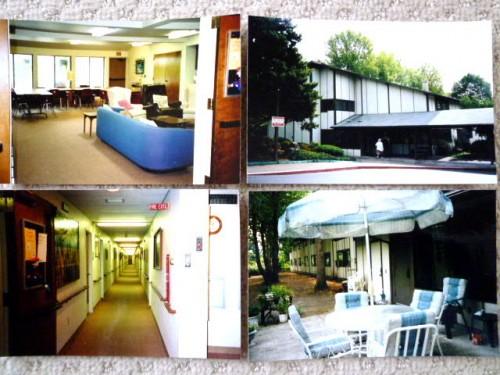 外観と内部:日本の有料老人ホームと同様の雰囲気