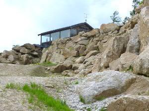 砦の上の「明新館」