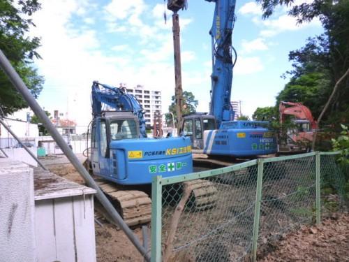 解体がほぼ終わった札幌市長公邸