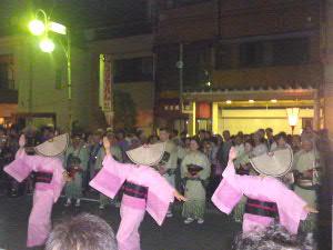 独特の踊り