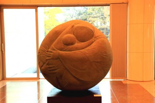 ワグナー・ナンドール作 「母子像」