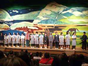 第5回北海道中学生演劇発表大会で