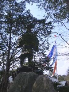 神宮境内の島義勇(しまよしたけ)開拓判官像