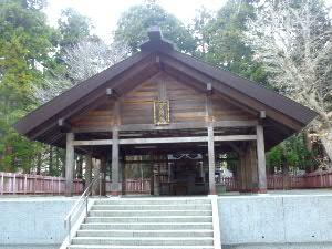 開拓功労者37柱をお祀りする開拓神社