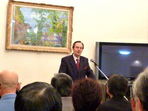 在札幌ロシア連邦総領事・ワシーリ・サープリンさん