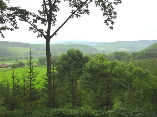 関寛斎・埋葬の丘から陸別町方面を望む