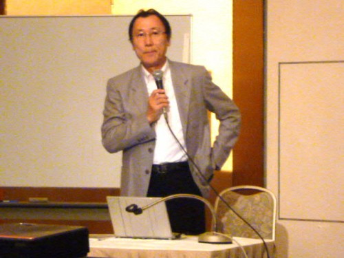 全日病常務理事・徳田禎久先生