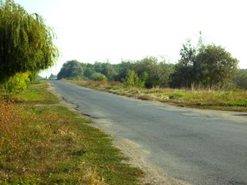 デブレツェンからの古代の国道