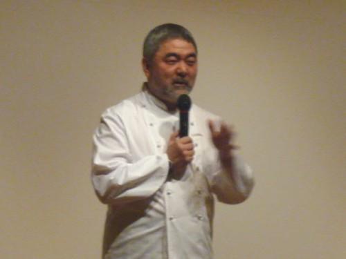最初に修行した札幌グランドホテルで講演