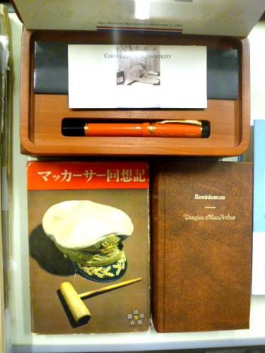 使用したサイン入りパーカー万年筆のレプリカ