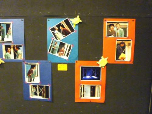 ロビーでは、これまでの公演の写真も展示