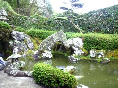 知覧の庭園