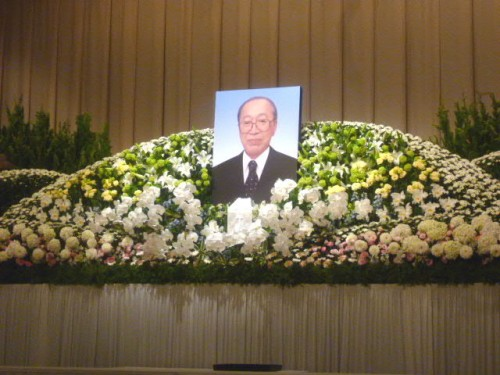 お別れの会・祭壇:京王プラザ札幌