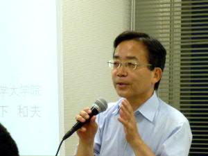 京都大学教授・松下和夫さん