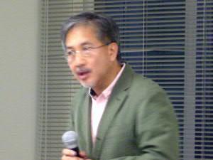 北海道大学教授・瀬名波栄潤さん