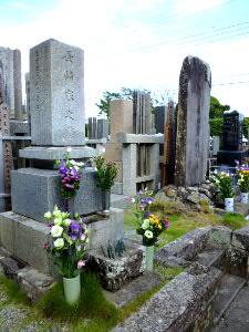 妻の両親、親戚のお墓参り