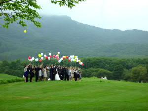「千年の丘」では結婚式!