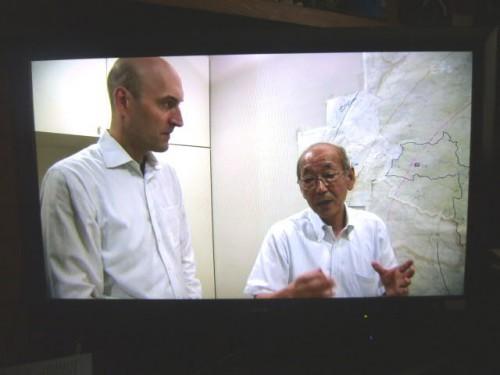 グレゴリー・ヤツコさんと浪江町前町長の馬場有さん