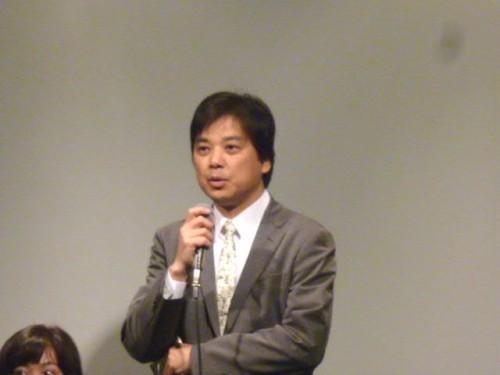 プロデューサーの阿武野勝彦さん