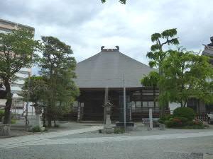 新渡戸家菩提寺の久昌寺