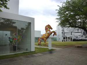 街中の現代美術館