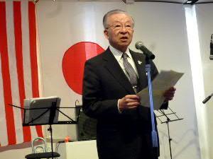北海道日米協会・伊藤義郎会長