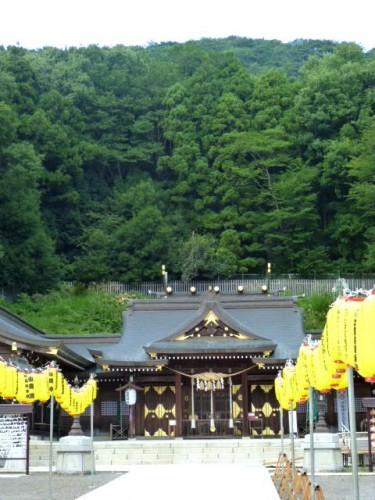 福島市信夫山公園・護国神社