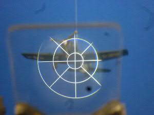 「零戦」操縦席の照準器からみる敵戦闘機