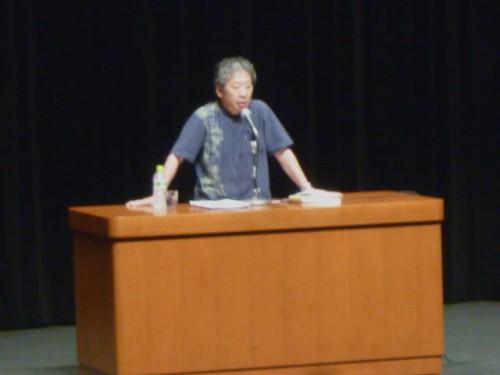 「九条の会」事務局長・小森陽一さんの講演