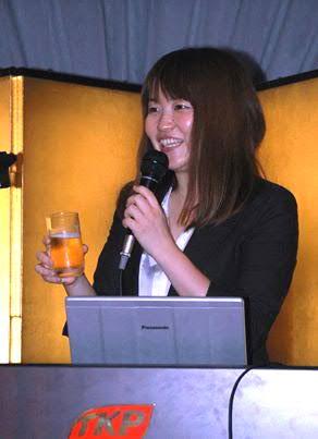 第3回のメインスピーチ:南51期 加藤英里さん