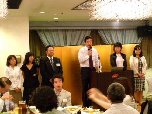 今年度幹事当番期・南38期佐々木寿誉委員長ほか