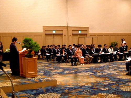 ネットワーク形成事業助成の湯浅優子選考委員長の経過報告