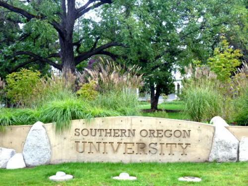 南オレゴン大学 入口