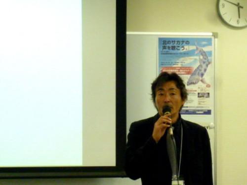 オショロコマの専門家・長谷川さん