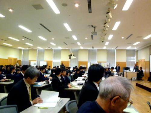 第47回中文連科学部の発表会