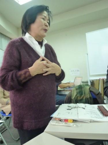 九州環境サポートセンター理事長の詠田トキ子さん