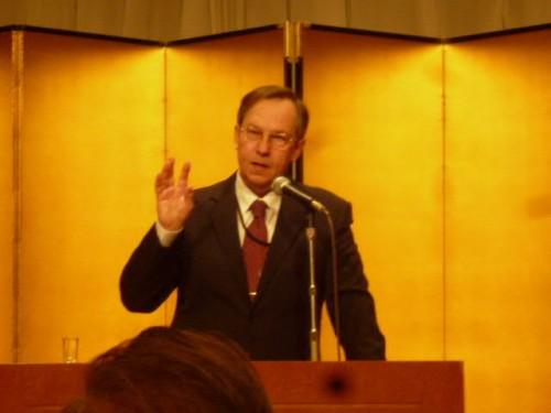 今年、離任予定のサープリン在札幌ロシア総領事