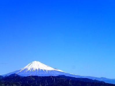 サンプロでの勉強仲間、瀧元先生の奥様のご実家から富士山