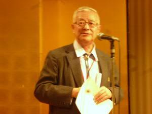 懇親会で乾杯のご挨拶:井上一郎さん