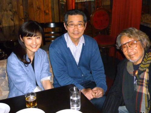 大林宣彦監督と女優の常盤貴子さんと札幌で