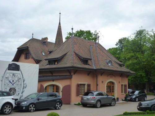 高級スイス時計で有名な「Frank Muller」の工場本社として