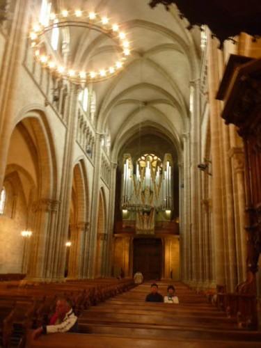 旧市街:大聖堂のパイプオルガン