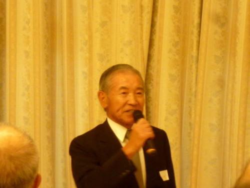 元スイス大使・村田光平(みつへい)さんもご挨拶