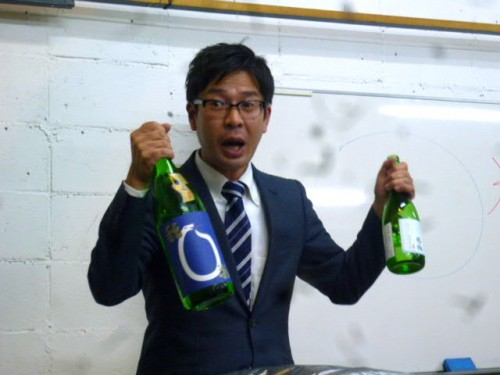 北海道栗山町小林酒造の小林精志専務の熱弁!